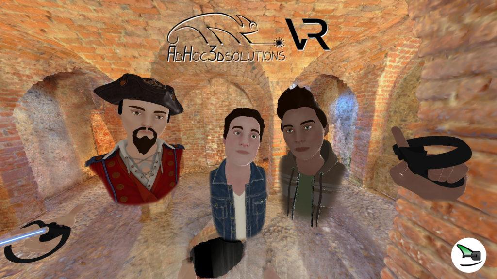Ad Hoc 3D VR